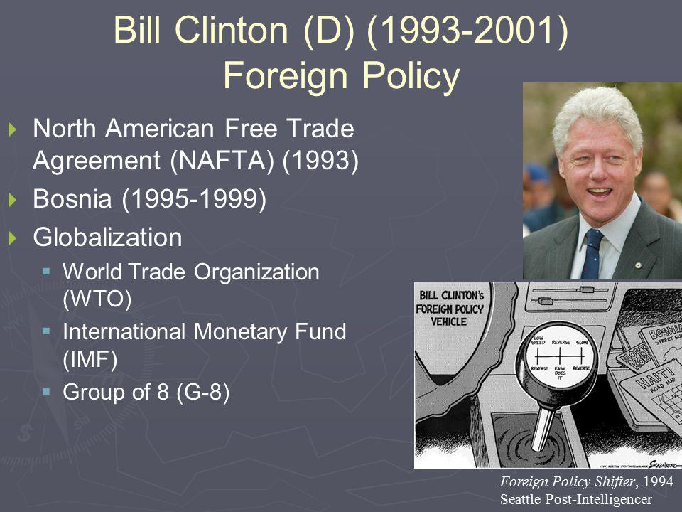 BillClinton ForeignPolicymuh legacy