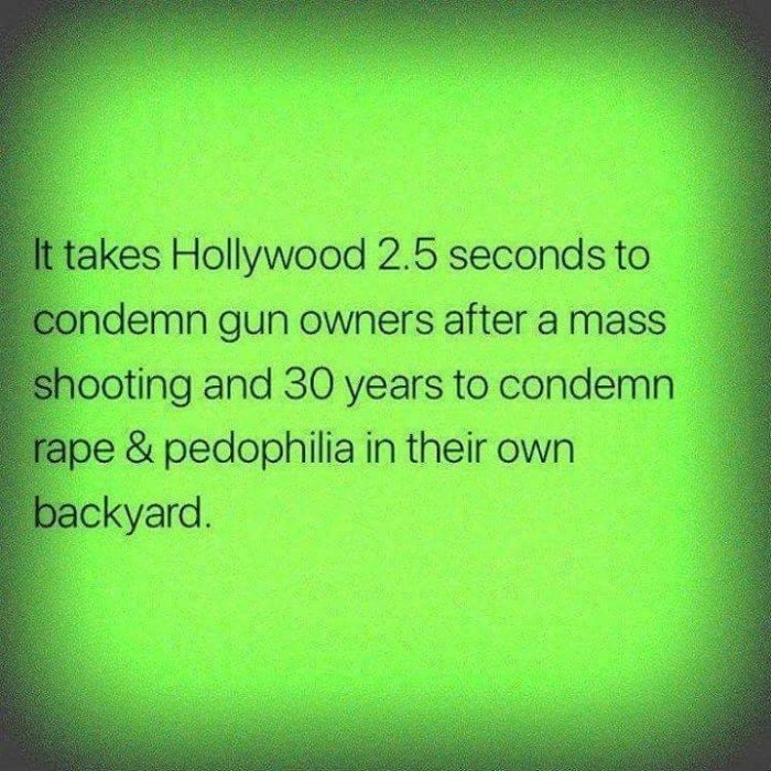 HollywoodCondemnGunNotPedo
