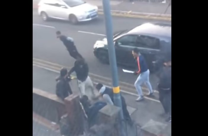 UK:  Vicious Machete Attack in Multicultural Birmingham