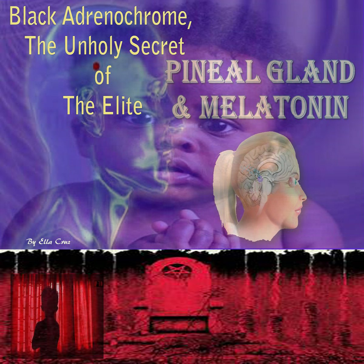 The Black Race Produces Calcified Adrenochrome Which Is Thicker, Stronger AndCreamier