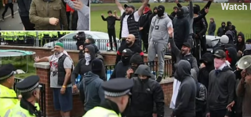 Tommy Robinson's view: What REALLY happened at Muslim riot in Oldham – YouTube