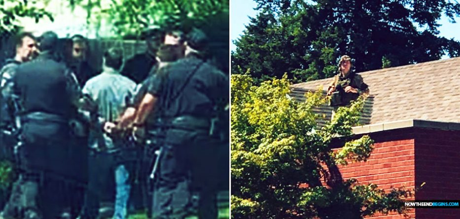 Police In Spokane Washington Use Rooftop Snipers To Protect 'Drag Queen Story Hour' While Baptist Pastor Preaching The Gospel Is Arrested • Now The End Begins