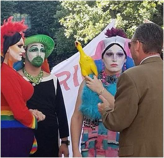 Protest of Spokane Drag Queen Story Hour Saturday, 15JUN2019 at 1300 #Spokane | Charles Carroll Society