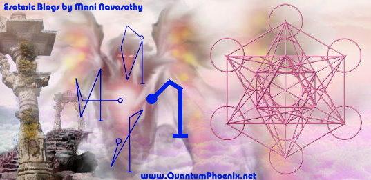 Angelic Magic: Creating Archangel names in sigil form for Raphael, Michael, Gabriel &Uriel
